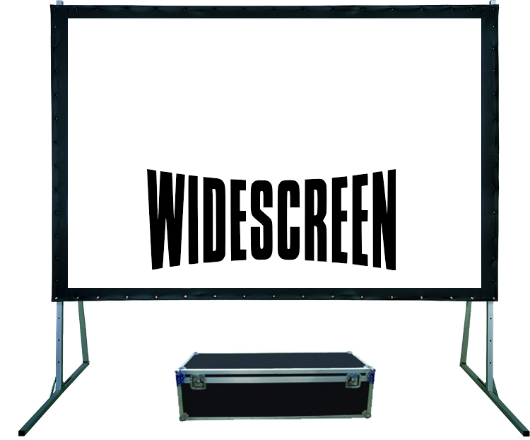 Widescreen Fastfold Projection Screen (12 x 7.5ft)