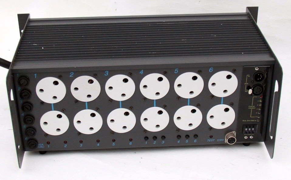 6 Channel Lighting Dimmer