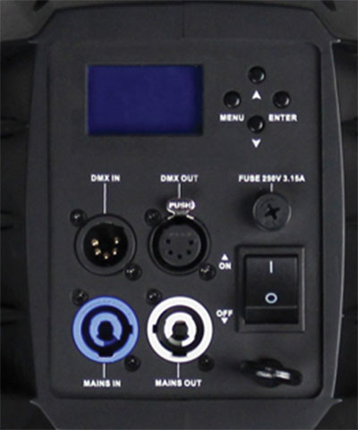 Rear connections and controls