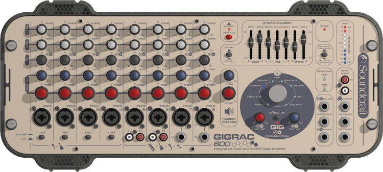 Soundcraft Gigrac Mixer Amp