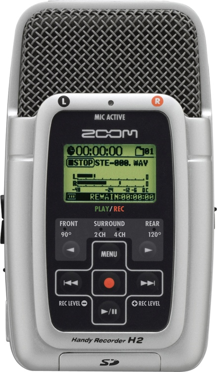 Zoom H2 Compact Digital Recorder