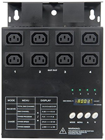 4-Channel IEC Dimmer