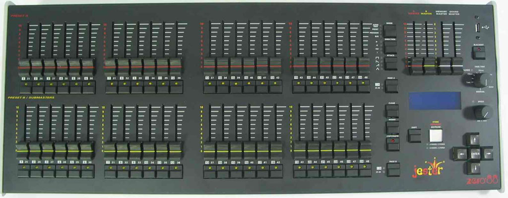 Zero 88 Jester 24/48 Lighting Console