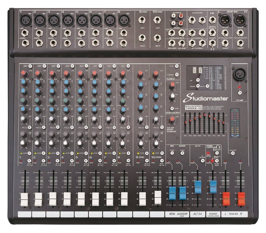 Studiomaster Vision Powered Mixer