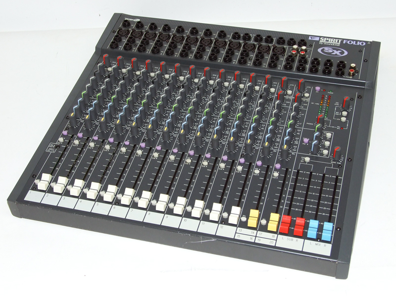 Soundcraft Spirit SX